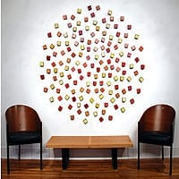 "Cluster Circle | Dimensions: 63"" diameter x 2""D 