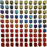 Cluster Cubed Square